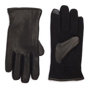 Ralph Lauren - Deer Leather Hybrid Driving Gloves
